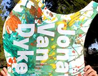 CalArts visiting artist posters for Jonathan Van Dyke