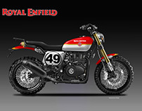 ROYAL ENFIELD TRAILBLAZER BRIT LEGENDS