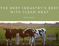 The Beef Industry's Beef with Clean Meat