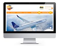 Hotsite Copa Airlines