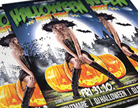 FREE: Halloween Party Flyer Template