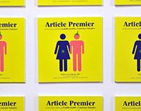 """SK Studio - Identité & Flyer du Film """"Article Premier"""""""