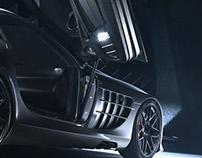 Mclaren Mercedes SLR 722 - Rear 3/4