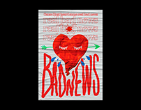 bad news poster