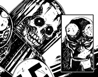 Hellboy sample pages