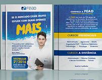 Campanha de divulgação vestibular FEAD/2016