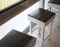 Uscio&Bottega - Restaurant custom furniture