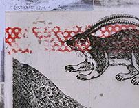 Momatra Squirrel / Serigrafía