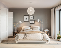Comfy Loft Bedroom designed by Kakotkin Ruslan. Tallinn