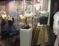 Fashion history display