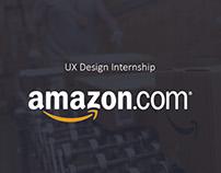 UX Design Internship | Amazon.com