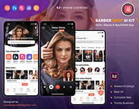 Salon, Beauty & Spa Mobile App