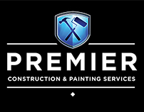 Premier Construction Services Logo Design