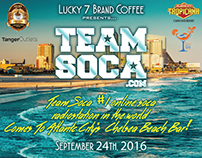 Lucky 7 Brand Coffee & Team Soca - 2016