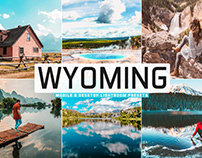 Free Wyoming Mobile & Desktop Lightroom Presets