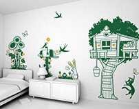 little Piece of Heaven :: children's wall decals