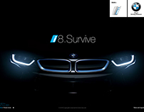 """BMW i8 … i-Survive"" ( AR Game )"