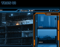 TRON like WPF UI