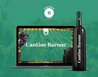 Cantine Barone - WebSite Concept