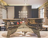 VÉGÁLLOMÁS BISTRO - interior design & branding / 2014
