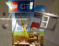 LEGO CITY Demolition Window Display