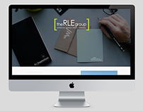 the RLE group Landing Page
