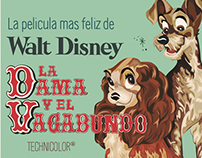 Lady and The Tramp Vectorization