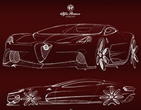 Sketchbook - Alfa Romeo