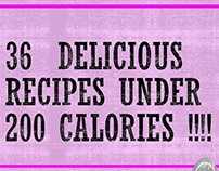 36 DELICIOUS RECIPES LESS THAN 200 CALORIES