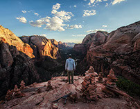 A night on Angel's Landing // TINCUP Whiskey