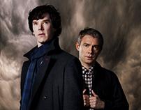 Sherlock TV Series Poster