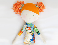 ANNE  |  Designer doll [Collection REVERIE, soft toys]