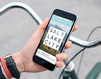 SLC Travel Mobile Website