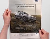 Subaru Outback - Print (April 2015)
