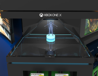 Retail Displays: Xbox One X / Samsung Gaming Demo