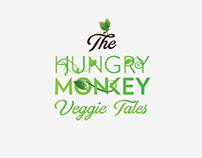 The Hungry Monkey Vegan Logo