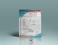 Royal School Admission Form