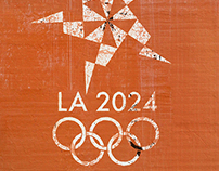 LA 2024 Olympic Logo Design