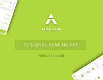 Asian Bank (Self initiated project)