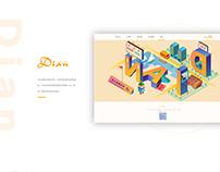 Recruitment website of Dian group