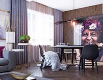 Berry Effect | Apartment Interiors