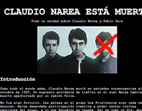 Claudio Narea is dead