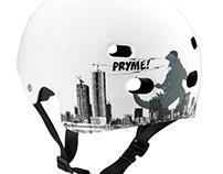 Pryme 8 BMX Halfshell Helmets