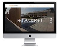 NaturaliStone Website Design