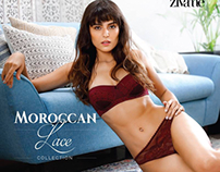 Moroccan lace for Zivame lingerie