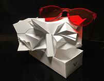 Gentle Monster Origami Packaging