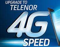 Defence Day animation for Telenor 4G