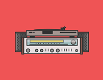 Hi-Fi Illustration
