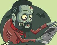 Zombie illustrator