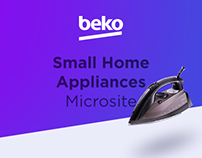 Beko Small Home Appliances Microsite by SHERPA